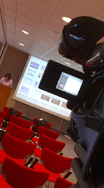 Media Inventions filming a conference in Plymouth on behalf of BioApproaches South West