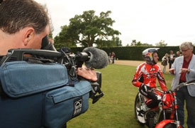 Media Inventions filming at Goodwood Festival of Speed